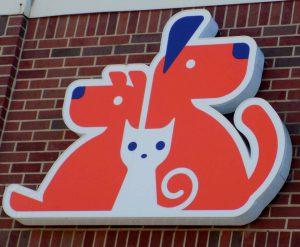 Custom light up logo sign overland park ks