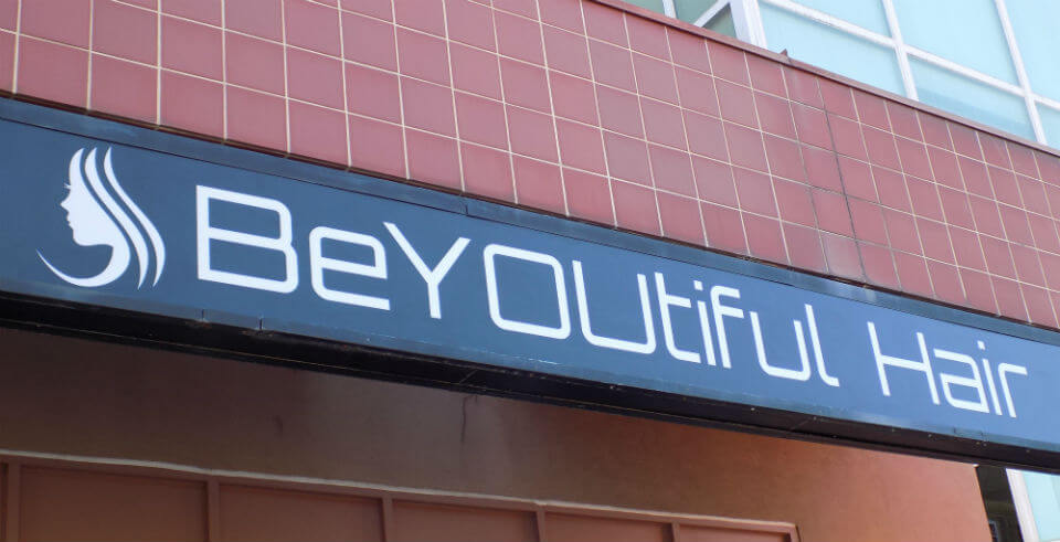 Custom Marquee Sign in Overland Park for BeYoutiful Hair